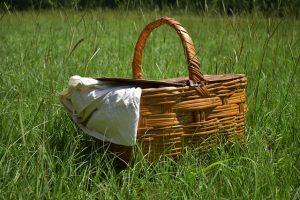 Picnic Basket Summer Food Garden  - SailingOnChocolateRoses / Pixabay